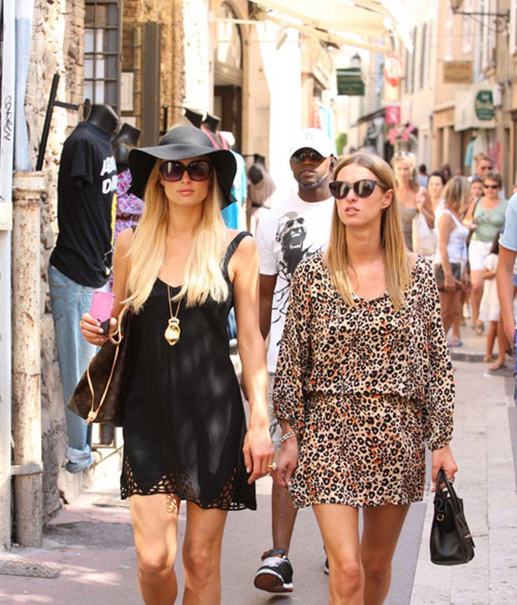 Desfile de famosos en Saint Tropez