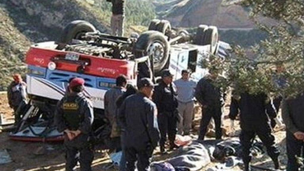 Accidente mortal en Perú