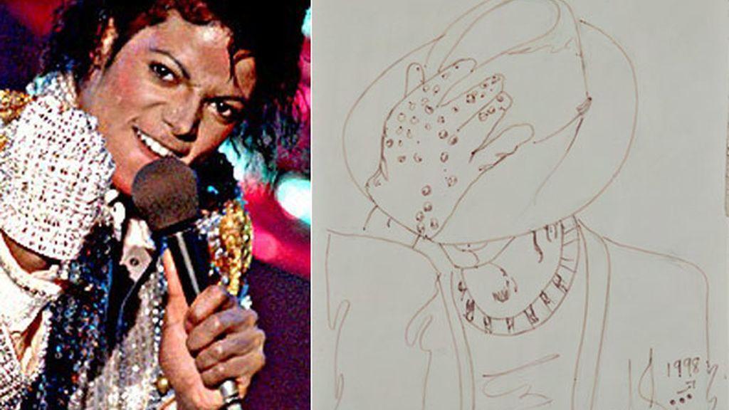 Autoretrato de Michael Jackson