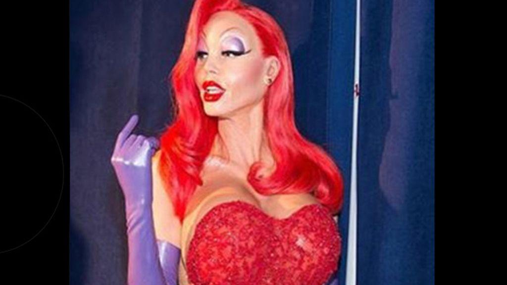El disfraz de Heidi Klum causa furor