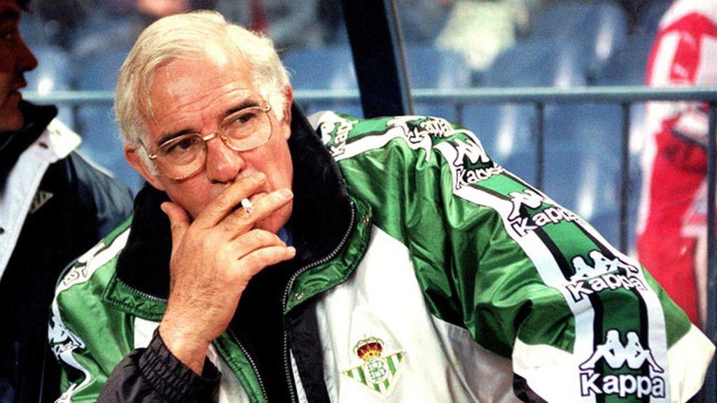 Una jornada aguantó Aragonés en 1981 en el banquillo del Betis