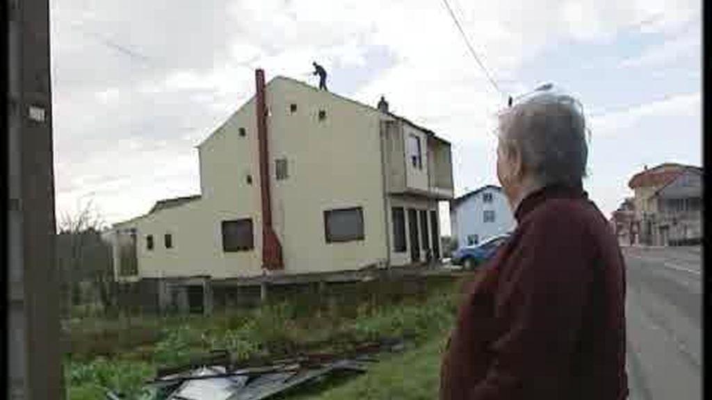 Un tornado en Rianxo