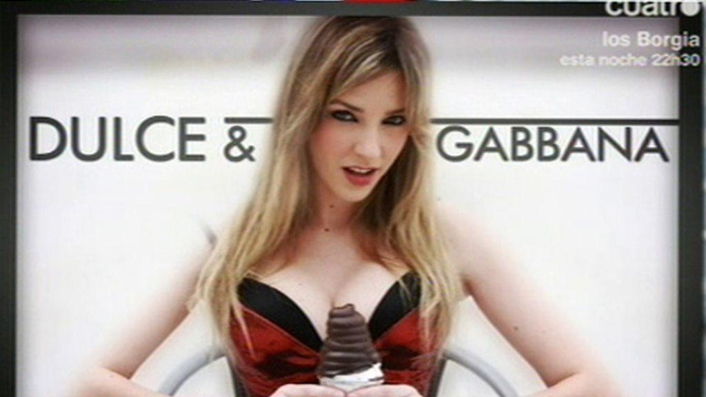 Anna para Dulce & Gabbanna