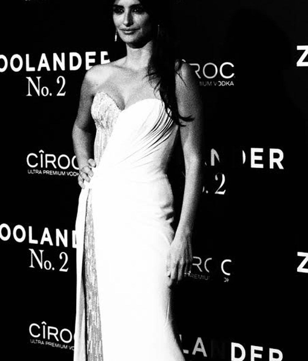 Eso sí, estaba muy guapa con su vestido Versace