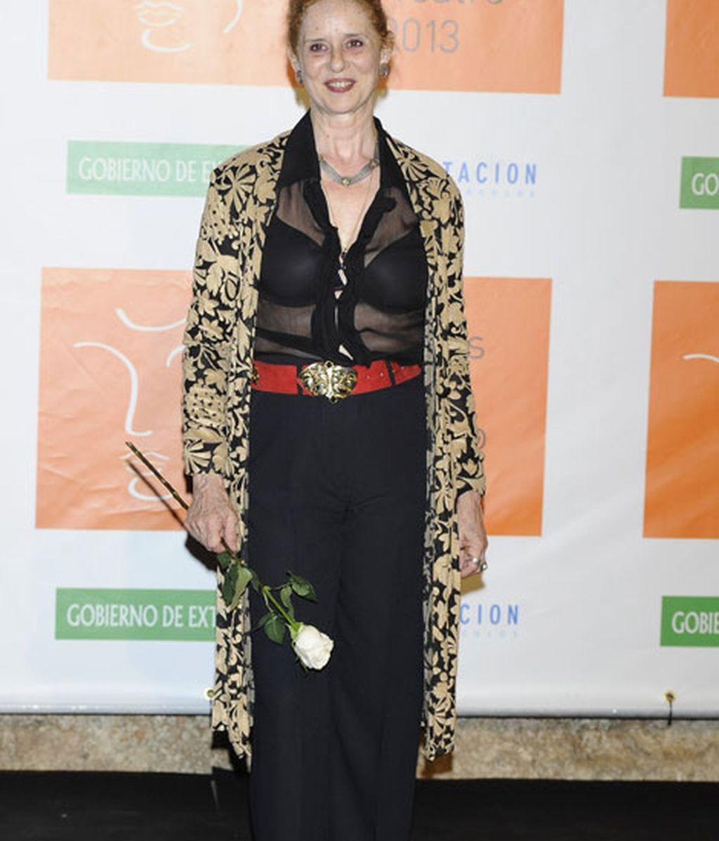 La actriz Vicky Peña arriesgó con las transparencias