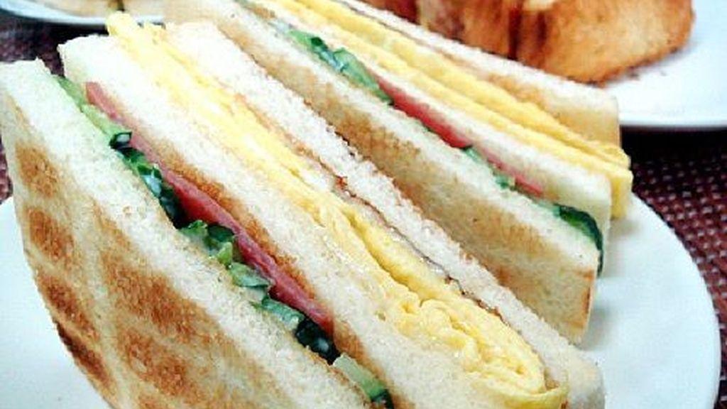 El sándwich taiwanés