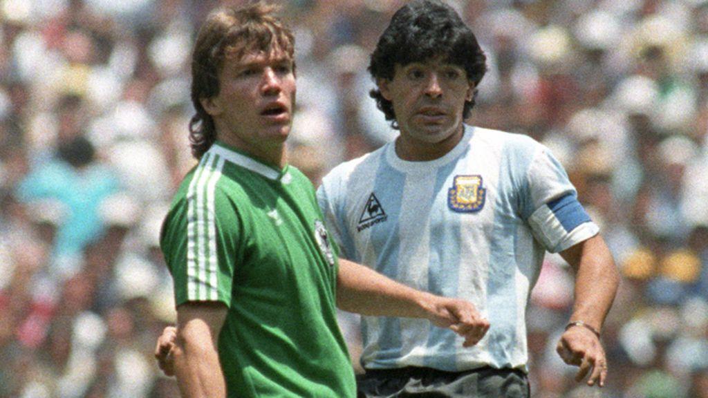 La albiceleste que Maradona convirtió en mito
