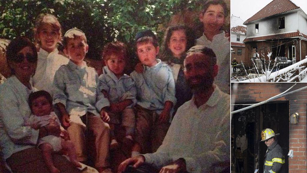 Primera imagen de los niños que murieron en el incendio de una casa en Brooklyn