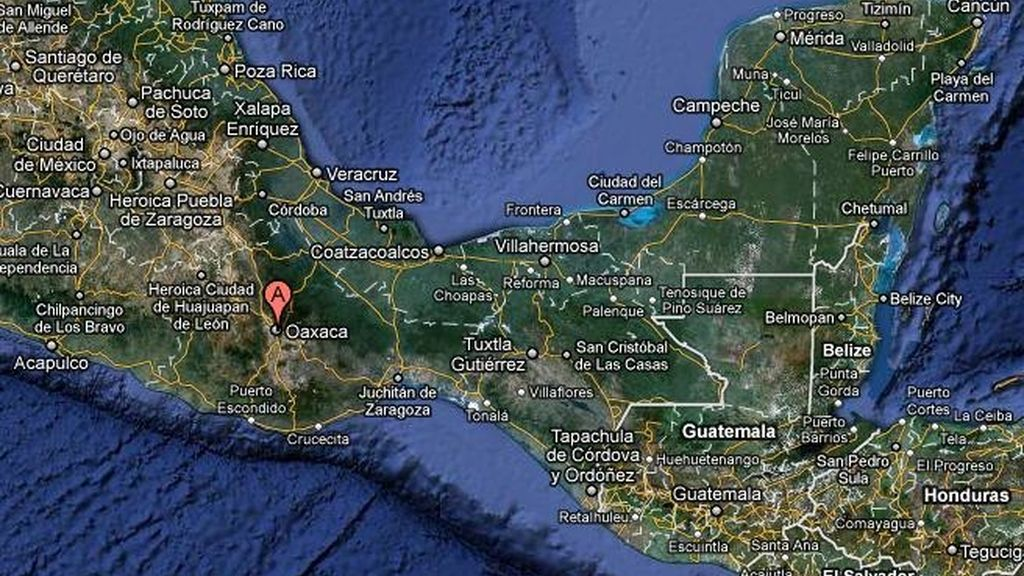 Derrumbes en Oaxaca