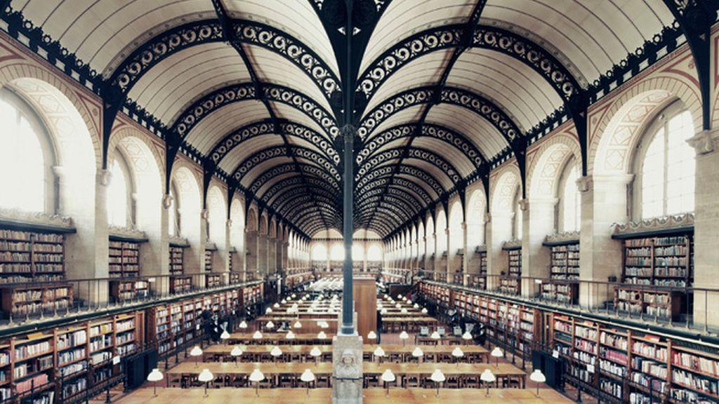 Biblioteca Sainte Genevieve, París