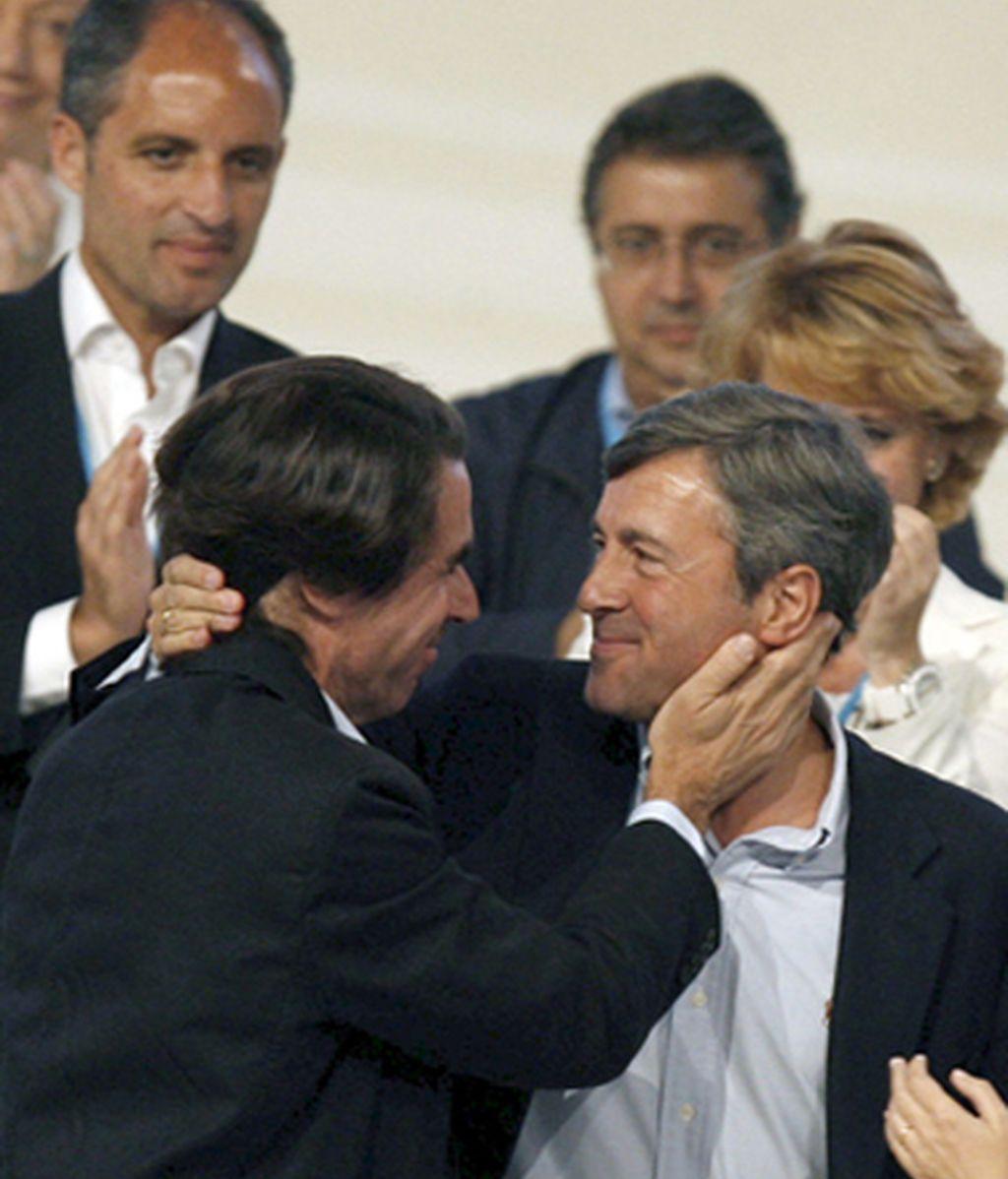 Acebes y Aznar