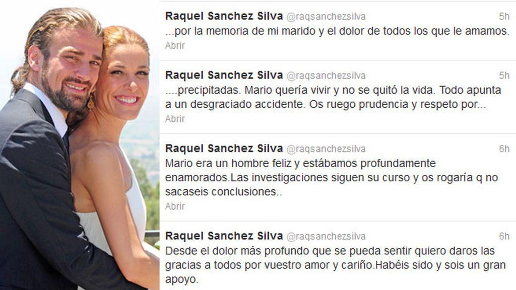 Raquel Sánchez Silva, en Twitter