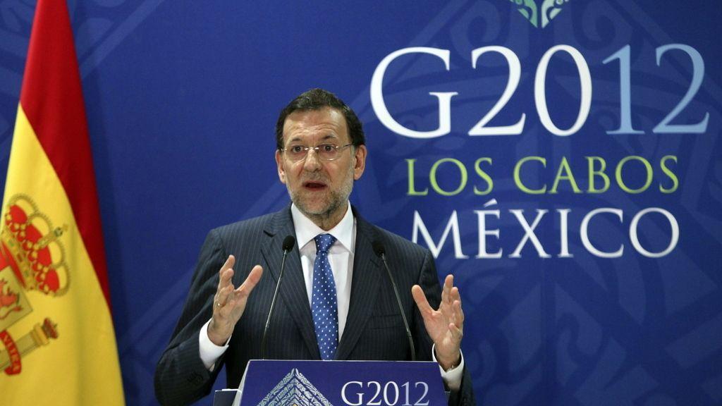 Mariano Rajoy en el G-20