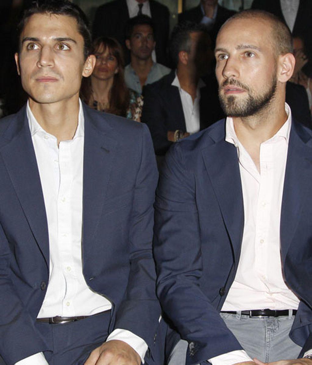 Álex González y Gonzalo Miró, juntos en primera fila