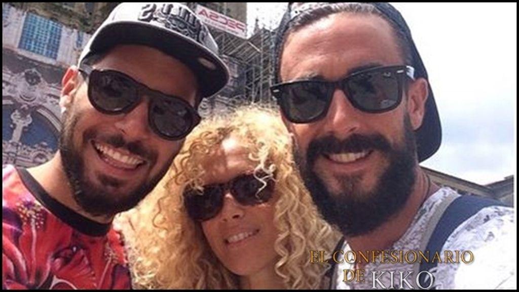 Azahara y Juanma visitan a Hugo y Rubia