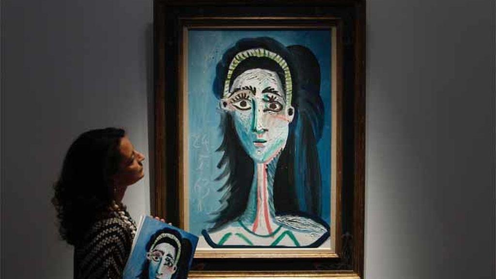 """Subastado un """"Picasso"""" por 9 millones de euros"""