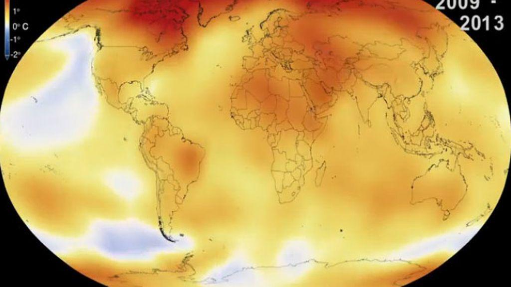 2014, el año más cálido desde 1880