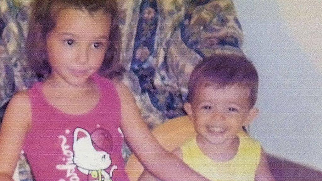 Los niños Ruth y José, en una imagen de archivo