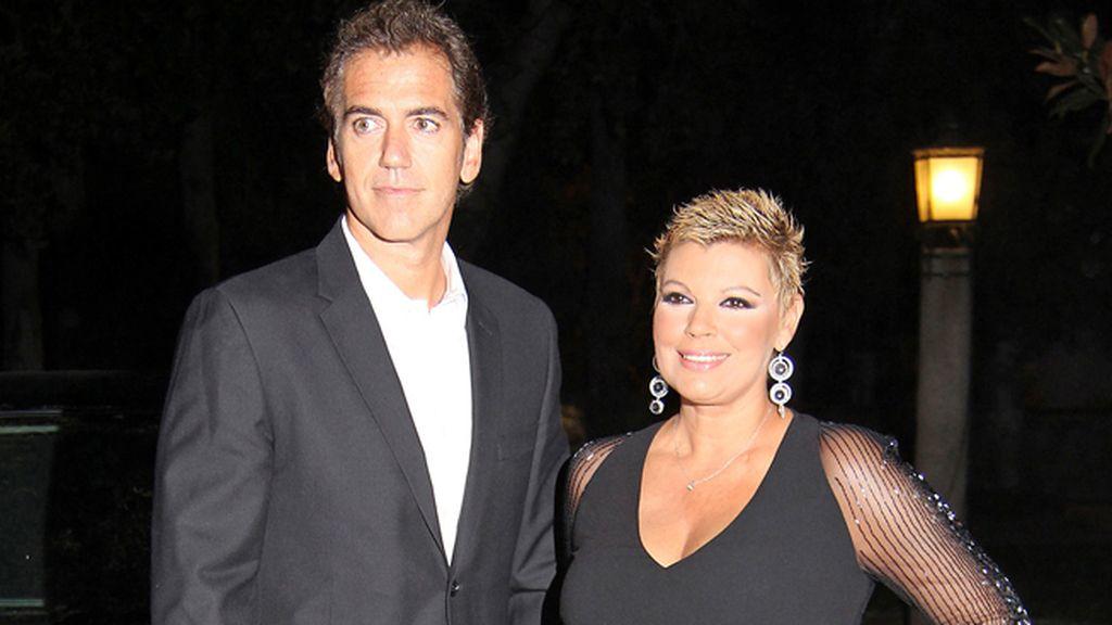 Terelu y su novio Carlos Pombo