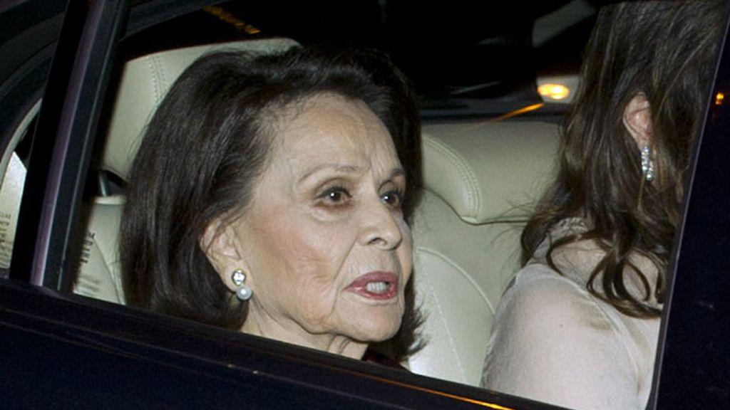 Beatriz Arrastia Reinares llega a la boda de Julio Iglesias junior