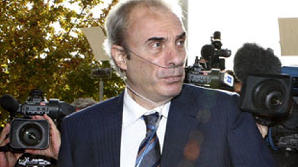 El profesor Jesús Neira, tranquilo durante su comparecencia. Vídeo: Informativos Telecinco