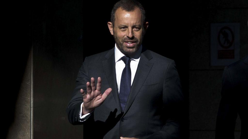 Sandro Rosell declara como imputado por el caso Neymar