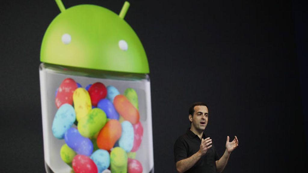 "Hugo Barra desvela el sistema móvil operativo de Android 4.1 ""Jelly Bean"""