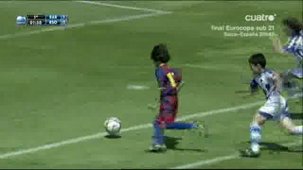 Álex marco otro gran gol para el Barça