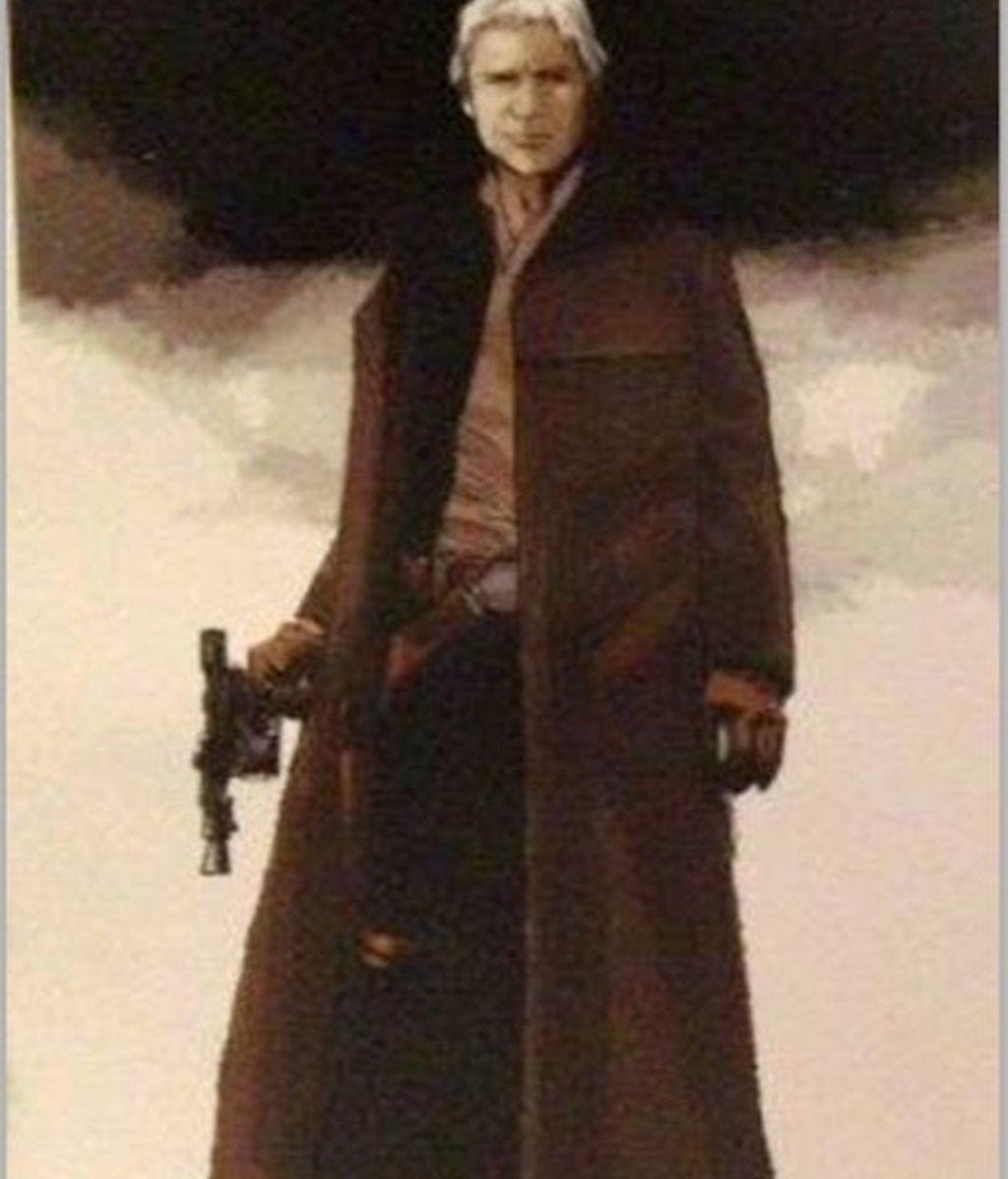La imagen de Han Solo en 'El despertar de la fuerza'