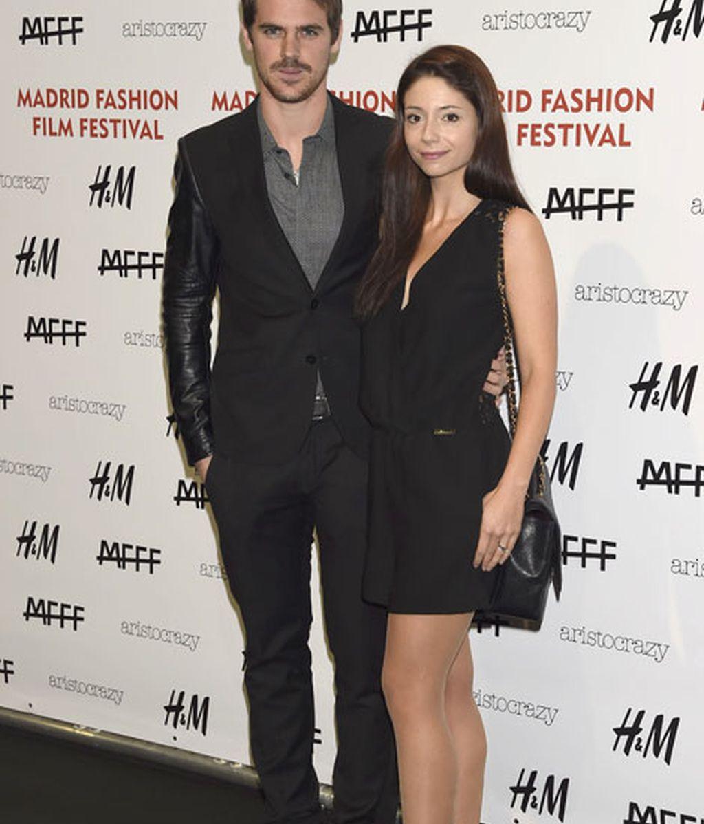 Gonzalo Ramos y su mujer Sofía Escobar