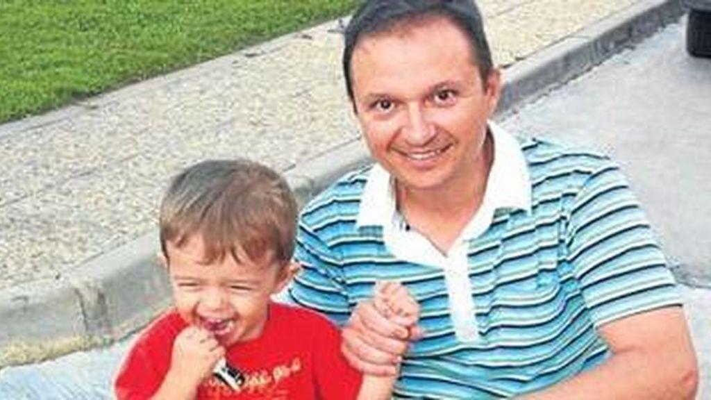 José Bretón con su hijo José