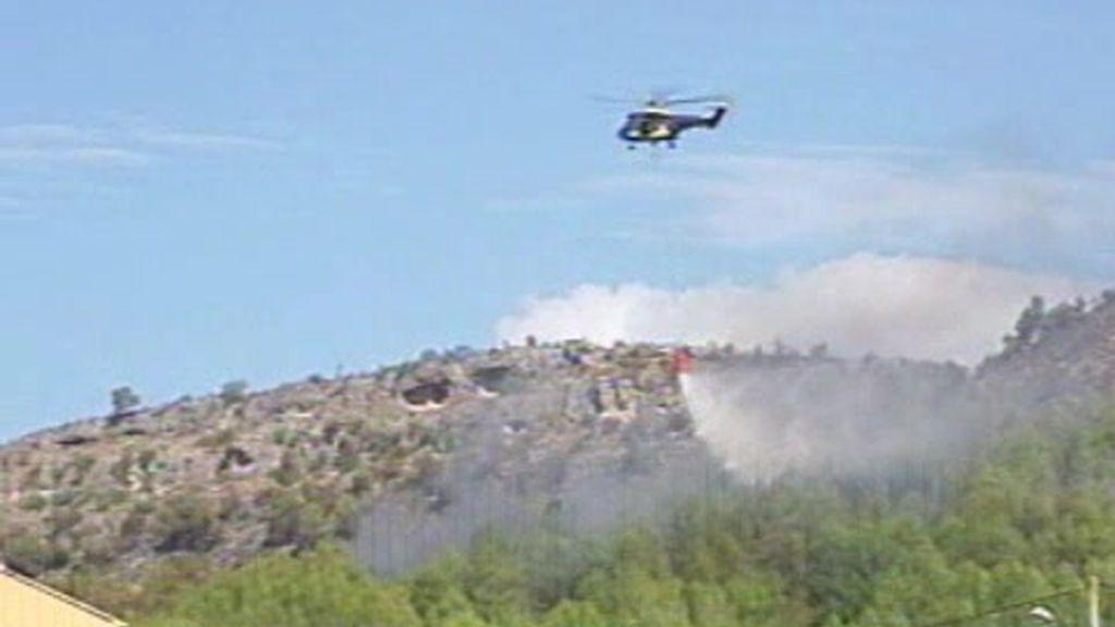 Estabilizados los incendios de Murcia y Valencia