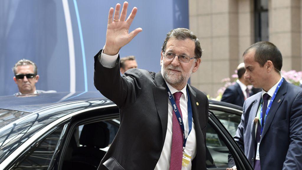 Mariano Rajoy asiste al Consejo Europeo