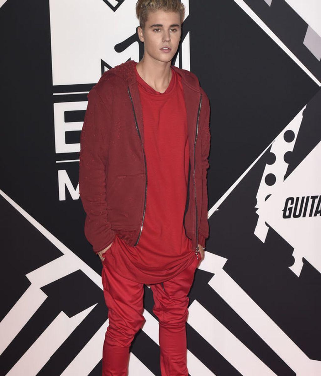 """""""Gracias por ponerme esta sonrisa en mi cara"""", titulaba Bieber en redes"""