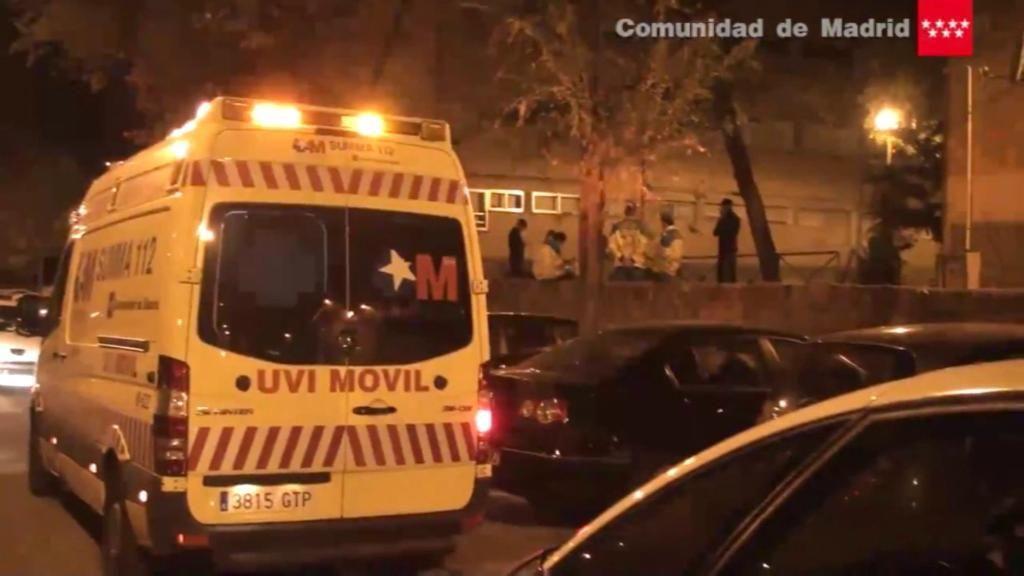 Muere una mujer en un piso okupado en Madrid