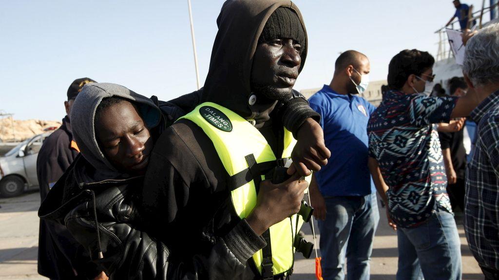 5.800 rescatados en aguas del Mediterráneo en un solo fin de semana