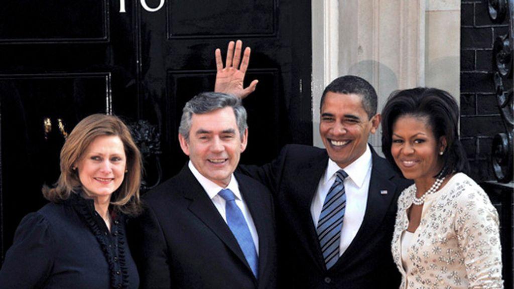 Obama y Brown