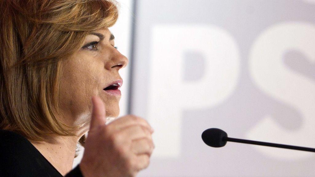 """Valenciano pide a Rajoy que aclare con """"contundencia"""" el caso Bárcenas"""