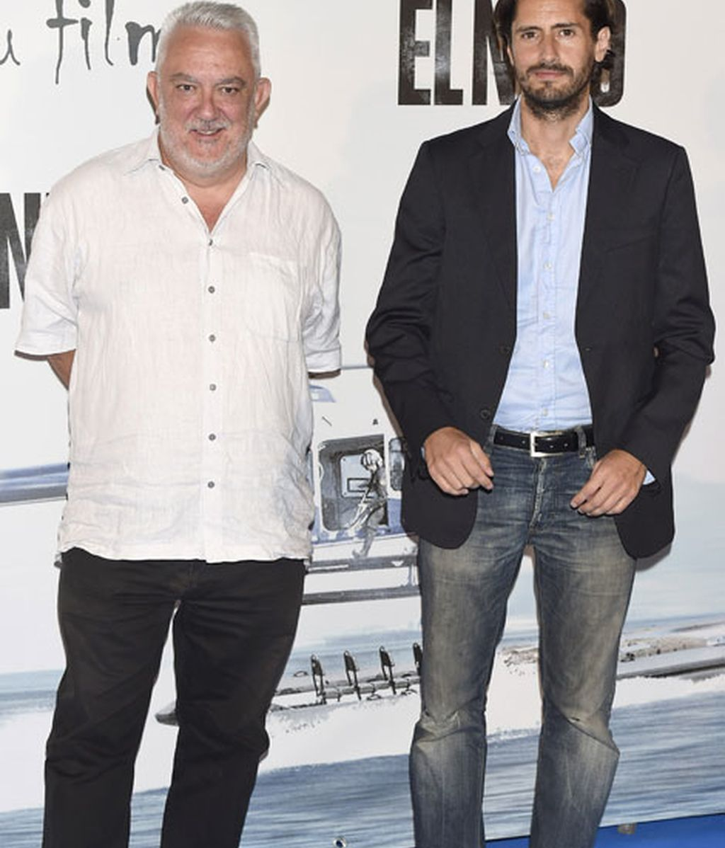 El actor Juan Diego Botto y el director Imanol Uribe