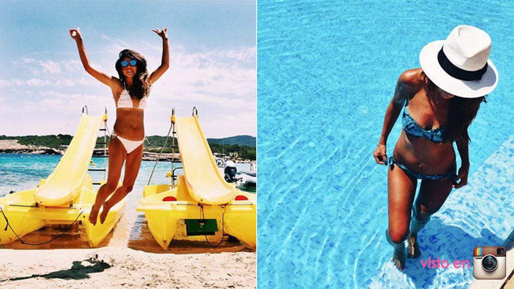 ¡Lovely Pepa también ha elegido Ibiza como destino pre-veraniego!