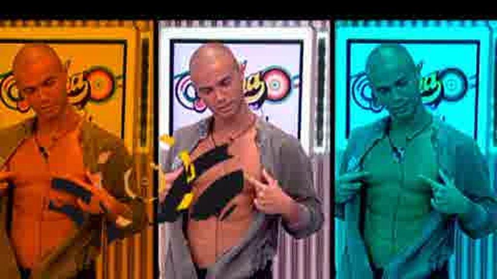 Promo Fama ¡A Bailar!: ¡Fuego en el chat!
