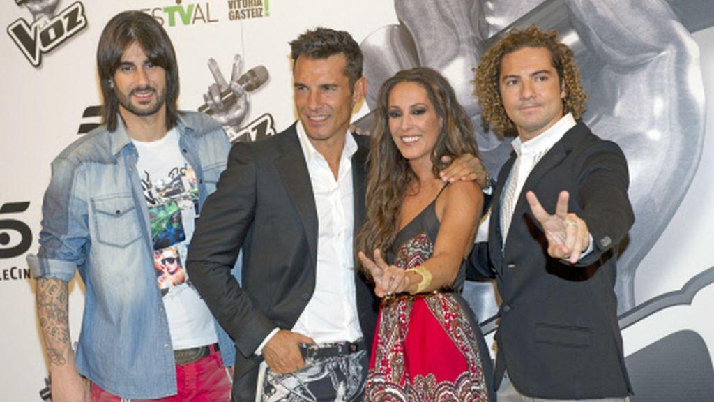 El equipo de 'La Voz'