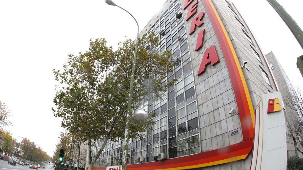 Sede de Iberia en Madrid