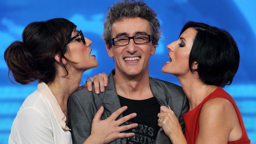 Silvia Abril, Ana Morgade y David Fernández en 'LNDL2'
