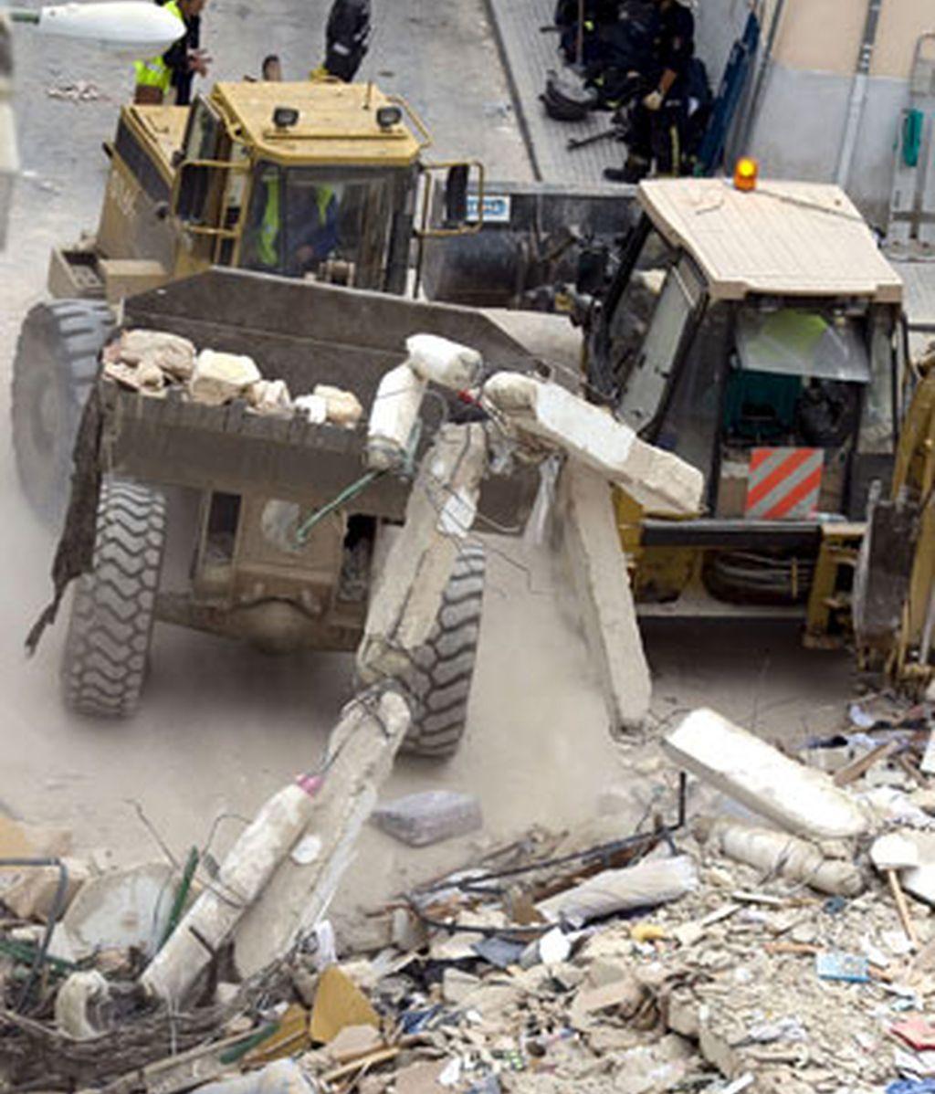 Se derrumba un edificio del centro