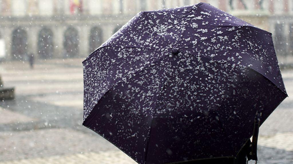 La semana termina con 24 provincias en alerta por lluvias, nevadas y fuertes vientos