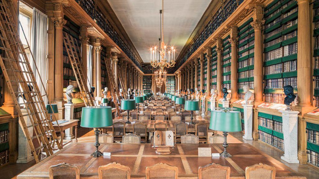Biblioteca Mazarine, Francia