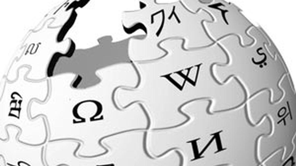 Logotipo de Wikipedia, la enciclopedia libre. FOTO: WIKIPEDIA