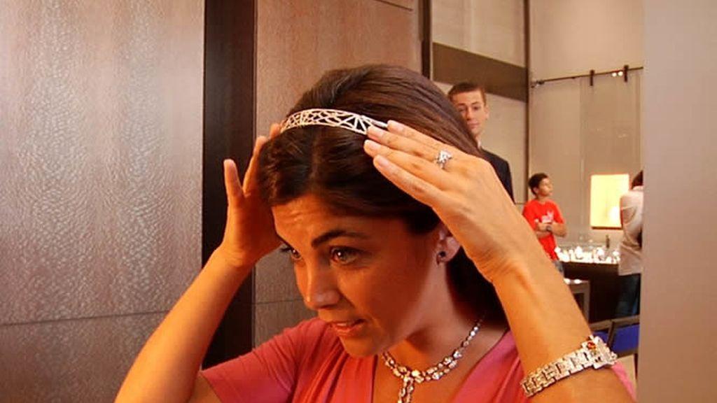 Samanta se prueba joyas en Chaumet 28