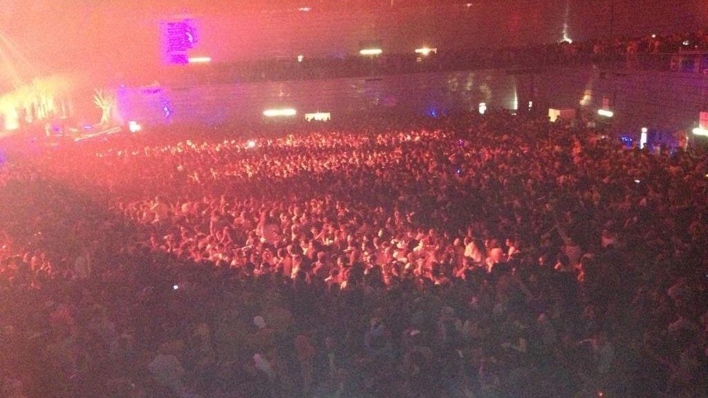 Halloween acaba en tragedia en el Madrid Arena